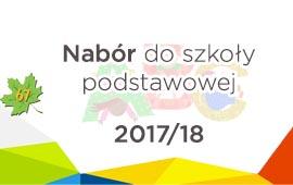 Nabór na rok szkolny 2017-18