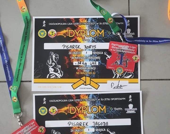 Ogólnopolska Liga Dzieci i Młodzieży w Ju-Jitsu Sportowym